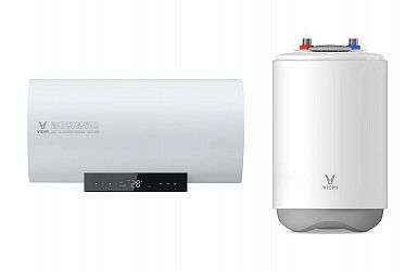 Сравнение водонагревателей Xiaomi: Viomi Internet Electric Water Heater 1A 60L против Viomi 6.6L